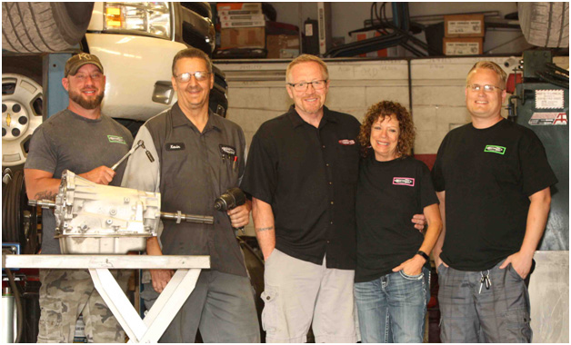 Photo of Mastertech Transmissions team at our Wichita auto repair shop