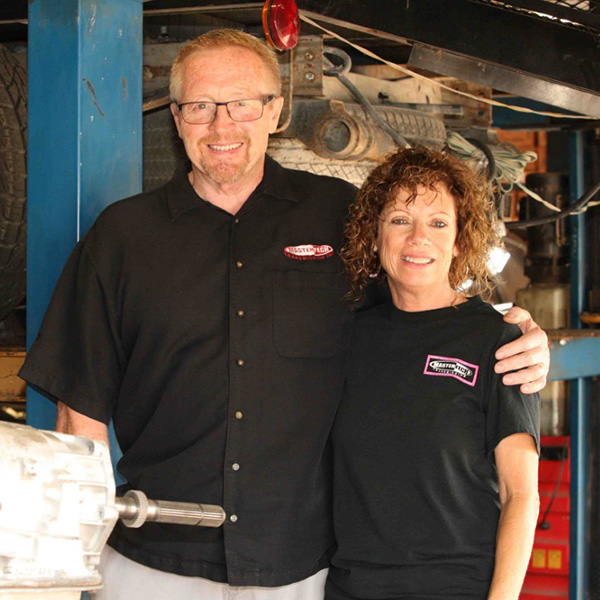 Michael and Cheryl, owners of Mastertech Transmission in Wichita, Kansas