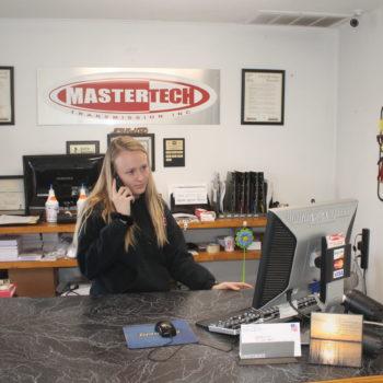 Mastertech receptionist