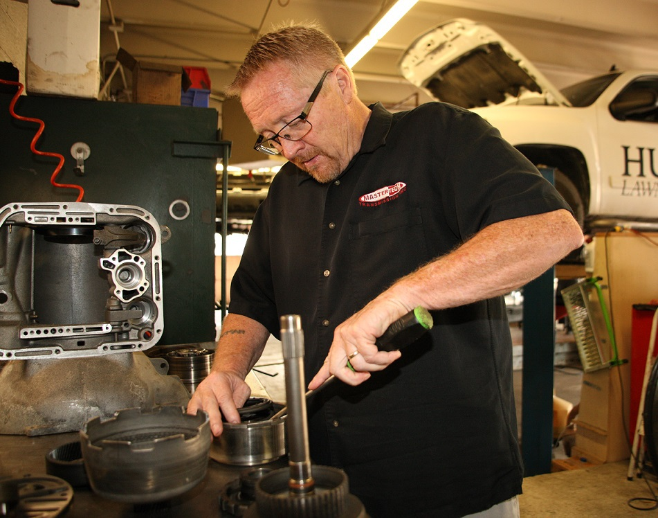 Michael Sparkman, founder and expert technician at Mastertech, Transmission specialists in Wichita